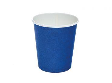 Hartpapierbecher blau, 180 ml 1x50 Stück