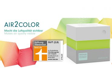 AIR2COLOR CO2 - AMPEL 1x1 Stück