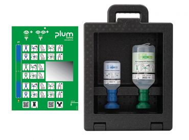 Plum iBox 2 - inklusive 200 ml Plum pH Neutral und 500 ml Plum Augenspülung 1x1 Stück