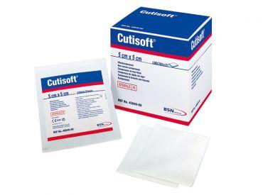 Cutisoft® Vlieskompressen 5 x 5cm, steril 50x2 Stück