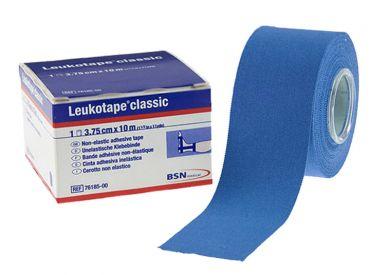 Leukotape® classic. 10 m x 3,75 cm, blau 1x5 Stück