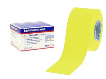 Leukotape® classic, 10 m x 3,75 cm, gelb 1x5 items