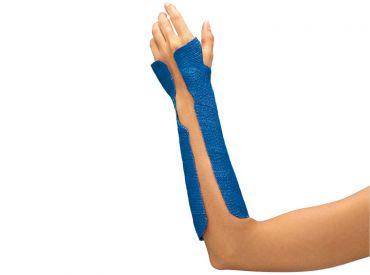 Delta-Cast® Conformable blau 3,6 m x 7,5 cm 1x10 Stück