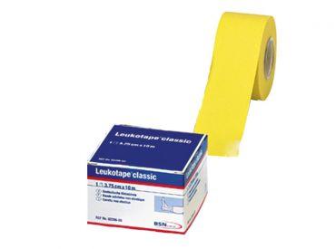 Leukotape® 10m x 3,75 cm, gelb, lose 1x12 Role
