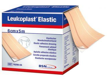 Leukoplast® Elastic 6 cm x 5 m, 1x1 Rollen