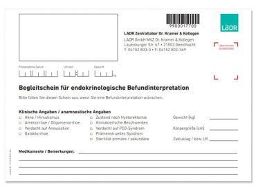 Begleitschein Endokrinologie Geesthacht 1x20 items
