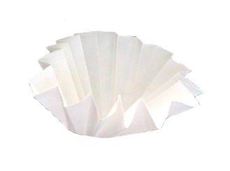 Faltenfilter 595 1/2, Ø 270 mm, 1x100 Stück