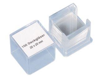 Deckgläser 20 x 20 mm, 1x100 Stück