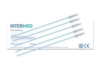 INTERMED Abstrichbürste, unsteril, Länge ca. 20 cm 1x100 Stück