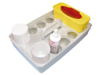 Safety-Tray Version II 1x1 Set