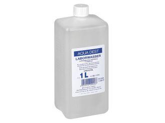 Aqua Dest - Laborwasser 1x1 Liter