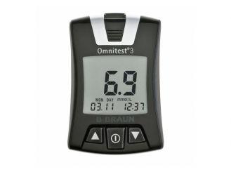 Omnitest® 3 Solo mmol/l B.Braun, weiß 1x1 Stück