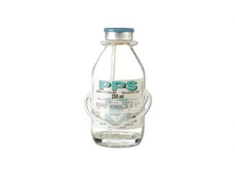 PPS Vakuumflasche 250 ml 1x10 Stück