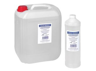 Aqua Bidest Laboratory water 1x10 l