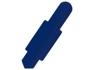 Karten-Reiter dunkelblau für Karteitasche A4 111583 und Hülle 110596 1x100 Stück