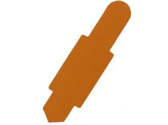 Karten-Reiter orange für Karteitasche A4 111583 und Hülle 110596 1x100 items