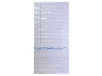 Karteimappe Simplex-Cedip weiß für den Orthopäden 1x250 Stück