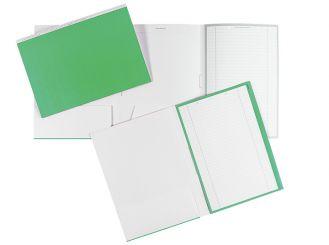 Karteimappen ALPHAnorm A4 grün / weiß 1x100 Stück