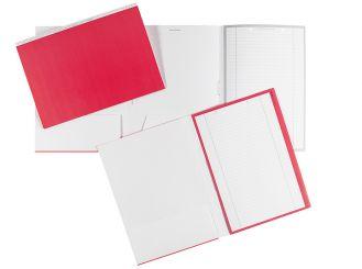 Karteimappen ALPHAnorm A4 rot / weiß 1x100 Stück