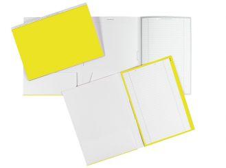 Karteimappen ALPHAnorm A4 gelb / weiß 1x100 Stück
