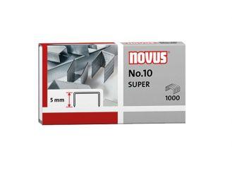 NOVUS Heftklammern Nr.10, verzinkt 1x1000 items