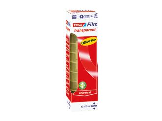 Klebefilm transparent 10 m x 15 mm 1x1 Role