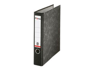 Ordner DIN A4 50 mm schwarz Pappe 1x1 items