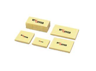 Pro/office Haftnotiz, gelb, 38 x 51 mm (B x H), 100 Blatt 1x12 Stück