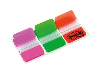 Post-it® Haftstreifen Index Strong 686 pink/grün/orange 1x66 items