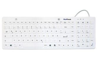 Baaske Meditouch BL01 GER - wasserdichte Tastatur mit Beleuchtung, 1x1 Stück
