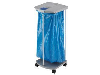 Hailo Abfall-Sammel-System Profi-Line WS, grau, 120 Liter mit 4 Rollen 1x1 items