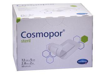 Cosmopor® Steril 7,2 x 5cm, selbstklebender Wundverband mit zentralem Saugkissen 1x50 Stück