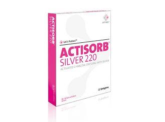Actisorb silver 220 10,5 x 10,5 cm 1x10 Stück