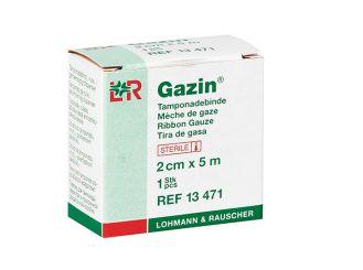 Gazin® Tamponadebinde steril 2 cm x 5 m 1x1 Stück