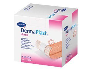 DermaPlast® classic 6cmx5m, Wundpflaster 1x1 Rollen