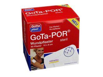 GoTa-POR Wundpflaster steril 100 x 80 mm 1x50 Stück