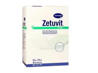 Zetuvit® Plus Saugkompresse 10 x 10 cm, steril 1x10 items
