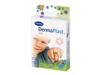 DermaPlast® kids, Pflasterstrips mit Motiven bedruckt 1x20 items