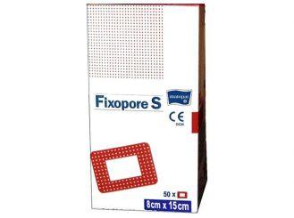Fixopore S steril 8 x15 cm 1x50 Stück