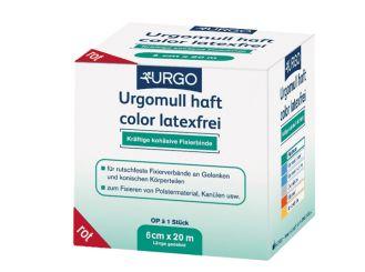 Urgomull® haft color latexfrei, rot, 20 m x 6 cm 1x1 Stück