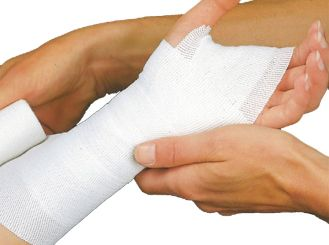 Lenkideal® 5 m x 6 cm weiß ohne Verbandklammern 1x10 Stück