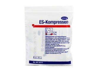ES-Kompressen, 5 x 5 cm, steril, 8-fach 1x10 Stück