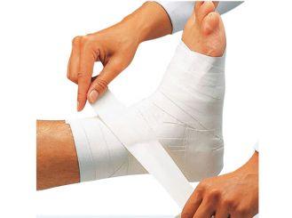Omnitape®, 2cmx10m, weiß, stark klebendes Pflasterband,unelastisch, sehr zugfest, leicht reißbar, auf Kunststoffspule 1x1 Rollen