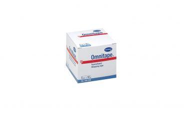 Omnitape®, 5cmx10m, weiß, stark klebendes Pflasterband,unelastisch, sehr zugfest, leicht reißbar, auf Kunststoffspule 1x1 Rollen
