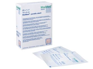 MaiMed®-porefix steril 10 x 8 cm 25x1 Stück