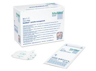 MaiMed®-porefix transparent 7 x 6 cm 50x1 Stück