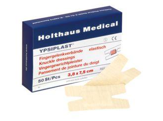 YPSIPLAST® Fingergelenkverband, 3,8 x 7,5 cm, elastisch, haurfarben, 1x50 Stück