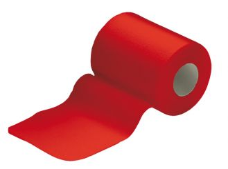 INTERMED Haft glatt rot Fixierbinde, 20 m x 8 cm 1x1 Stück