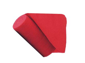 INTERMED Universalbinde rot, 5 m x 8 cm 1x10 items