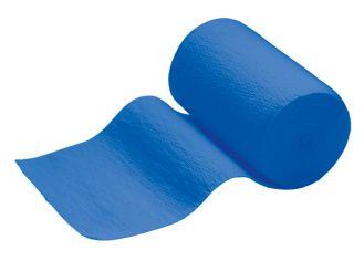 INTERMED Idealbinde, 5 m x 10 cm, blau, mit Verbandklammern, 1x10 Stück